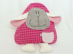 Schäfchen  rosa - Wärmkissen von Lucy´s  shop auf DaWanda.com