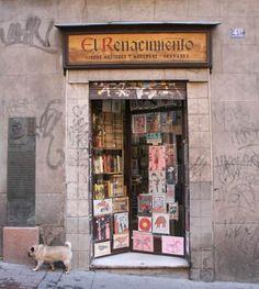 * Librería El Renacimiento, número 49 de la calle Huertas (Madrid) *