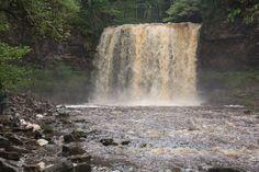 Sgwd yr Eira waterfall - http://ift.tt/1HQJd81