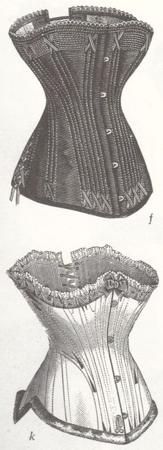 more x shaped flossing!  The top one is what I want my corset to look like