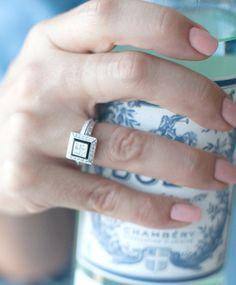 Gorgeous bling ring!