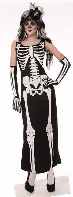 Skeleton Dress Adult Costume