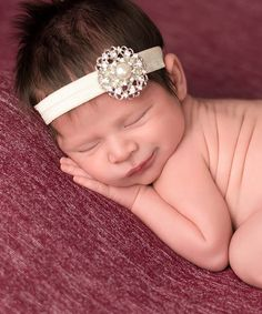 Take a look at the The Tiny Blessings Boutique Ivory Rhinestone & Pearl Headband on today! Tiny Blessings, Pearl Headband, Baby Girl Headbands, Little Darlings, Crafts To Do, Cute Kids, Ivory, Boutique, Pearls