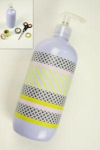 masking tape pour distributeur savon