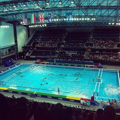ssgssg's photo of Water Polo Arena on Instagram