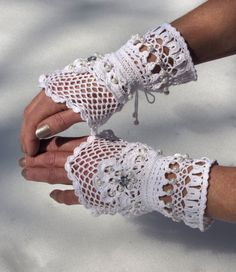 Victorian Lace Cuffs  Born to be Loved by domklary on Etsy