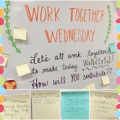 Work together Wednesday