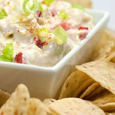Recipe: Low-calorie Artichoke and Roasted Red Pepper Yogurt Dip