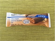 Nutrisystem Chocolate Peanut Butter Bar