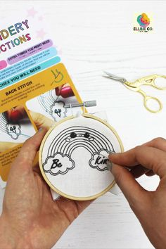 Latest Free Embroidery Patches tutorial Thoughts Excellent Photos Embroidery Patches tutorial Suggestions The top as well as most frequent foundatio Sewing Tutorials, Sewing Crafts, Sewing Projects, Sewing Ideas, Rainbow Quote, Rainbow Art, Embroidery Patches, Diy Embroidery, Embroidery Patterns