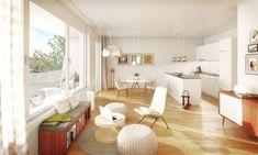 Traumhafte 3 Zimmer Wohnung in Aesch zu vermieten.