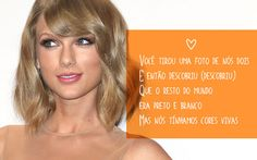 10 frases inspiradoras do novo álbum da Taylor Swift Música: Out Of The Woods