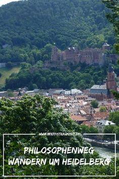 Heidelberg ist der perfekte Ort um einen Städtetrip mit wandern zu verbinden. Tagsüber wandern auf dem Philosophenweg, die Aussicht vom Schloß genießen und Abends die Heidelberger Altstadt genießen.
