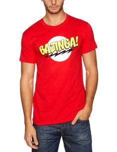 The Big Bang Theory – T shirt Bazinga – Maglia in cotone ispirata alla sit  com bfd0fe68e2c