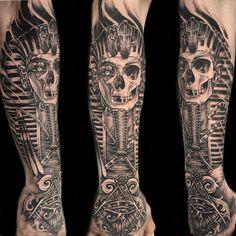 6 hours straight on his first tattoo, well done mate #tattoo #tattoos #tattooing #tattooist #tattooed #tattooer #tattooart #tattooartist #tattoodesign #tattooworkers #tutankhamun #egypt #egyptian #pharoah #king #egyptianart #skull #skulltattoo #dead #art #design #drawing #newtraditional #blackandgrey #blackandgreytattoo #realism #uk #uktta #uktattoo #kingtut