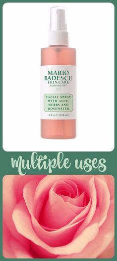 Mario Badescu Aloe, Herbs & Rosewater Facial Spray.  $7 at Ulta
