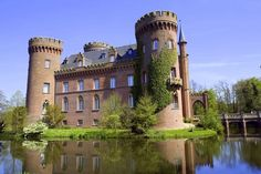 Schloss Moyland in Northrhine-Westfalia. One of the many water castles in that area.