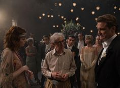 Directed by Woody Allen. Photographed by Darius Khondji ASC with C & E Series anamorphic lenses and Arricam LT.  Supported by Panavision Alga