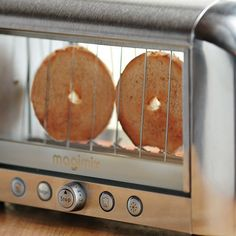 We need this...our toaster is plotting against us -- see-through toaster so the toast won't get burnt ever again!