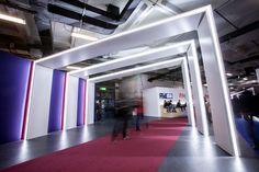 Arches, light, exhibition, Cisco live
