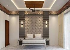 Bedroom Pop Design, Bedroom Furniture Design, Room Interior Design, Home Room Design, Bed Design, Bed Furniture, Pvc Ceiling Design, Ceiling Design Living Room, Bedroom False Ceiling Design