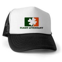 Irish FLIGHT ATTENDANT Trucker Hat