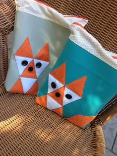 Diaper Bag  Gray faux leather felt fox diaper by SweetKiddyCaps  $30.00
