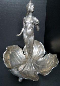 Art Nouveau Figural Centerpiece