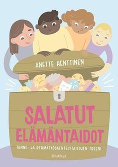 Salatut elämäntaidot : tunne- ja ryhmätyöskentelytaitojen treeni Helsinki, Family Guy, Books, Fictional Characters, Art, Art Background, Libros, Book, Kunst