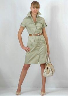 Fashion Wear, Retro Fashion, Trendy Fashion, Fashion Dresses, Nice Dresses, Casual Dresses, Summer Dresses, Vestidos Safari, Jw Moda