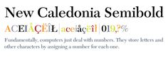 New Caledonia Semibold