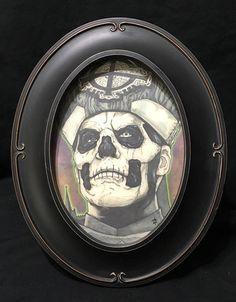 Ghost Band Papa Emeritus Nameless Ghouls Music Framed Print