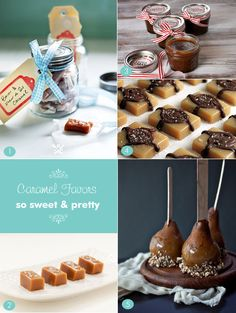 Caramel recipes for candy to give as favors #caramelfavors #ediblepartyfavors #edibleweddingfavors