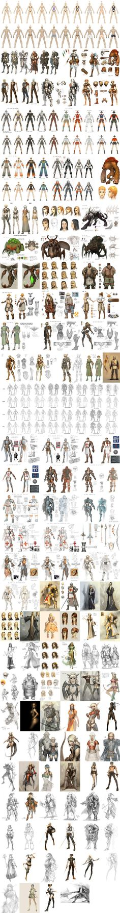 character design fashion clothing clothes armor chart | Create your own roleplaying game material w/ RPG Bard: www.rpgbard.com | Writing inspiration for Dungeons and Dragons DND D&D Pathfinder PFRPG Warhammer 40k Star Wars Shadowrun Call of Cthulhu Lord of the Rings LoTR + d20 fantasy science fiction scifi horror design | Not Trusty Sword art: click artwork for source