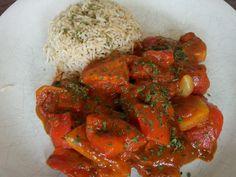 Chicken Jalfrezi - ein Gericht aus Indien