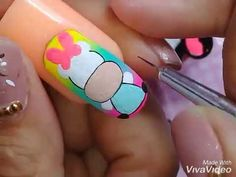 Semi Permanente, Nail Art Videos, Mayo, Pedicure, Nail Designs, Turquoise, Nails, Pretty, Youtube