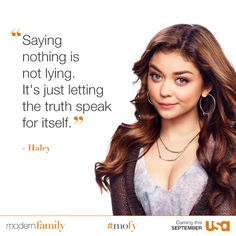 Moder family - Saying nothing is not lying. It's just letting the truth speak for itself