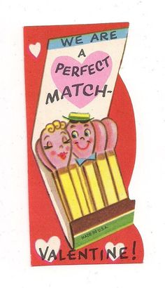 vintage valentine - a perfect match