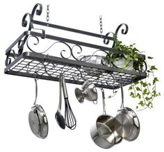 Products Hanging Pot Rack
