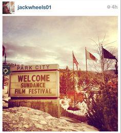 Welcome to Park City, Sundance Film Festival.