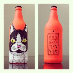 Bottle Head by Andre Batista Rabisca