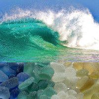 Sea Glass Glossary - Jewelry and Sea Glass Terms Sea Glass Beach, Sea Glass Art, Sea Glass Jewelry, Sea Glass Colors, Sea Glass Crafts, Beach Crafts, Beach Art, Sea Shells, Waves