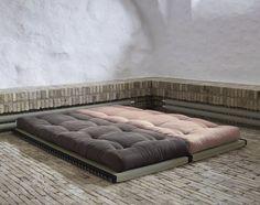Tatami mat under mattress