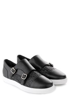 Leather Monk Strap Shoes Spring/summer Dsquared2 g7SHP