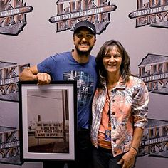 Alerus Center's Cheryl Swanson welcomes Luke Bryan and his Kick The Dust Up Tour to the Grand Forks, N.D., venue May 8 #LukeBryan #AlerusCenter