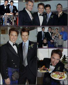 John Barrowman and his husband Scott Gill - pix of their wedding
