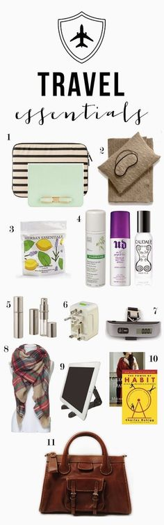 {carry-on travel essentials} (mint love social club)