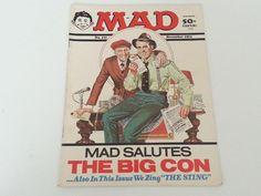 Vintage Mad Magazine No. 171 December 1974 Richard Nixon The Sting Spoof Cover