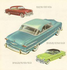 1951 Ford Victoria sales catalog.