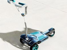 A designer with sports car design street cred creates a sleek, easy-to-pack electric scooter for commuters.